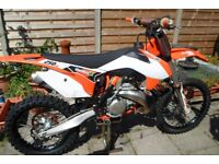 ktm 250 sx , two stroke motocross bike