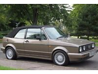 VW Golf MK1 Clipper Cabriolet - BBS Alloys, New Hood, Low miles, mk2 gti Classic Convertible Swap