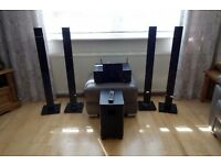 Pioneer VSX-930 , with samsung surround speakers and pioneer S-21W subwoofer