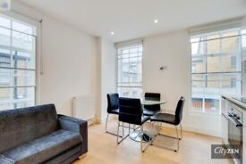 Furnished studio, converted warehouse, canal side development, walk to Canary Wf, shops & station