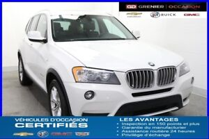 "2013 BMW X3 XDrive 28i *CUIR TOIT PANO MAGS 18""""*"