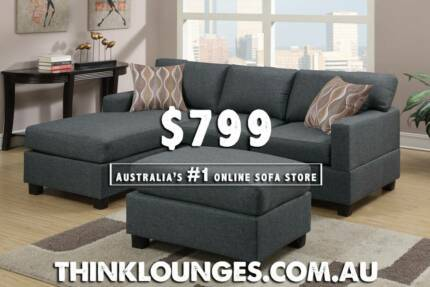 NEW LOUNGE SOFA SETS  -  DISCOUNTED BE QUICK !!! City North Canberra Preview