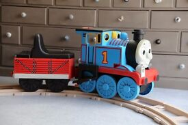 Peg Perego Thomas the Tank Engine Electric Ride On Train with Circular Track
