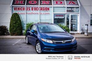 2012 Honda Civic EX * Auto * Mags * Toit-ouvrant * Bluetooth