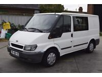 LEFT HAND DRIVE FORD TRANSIT VAN, DRIVES VERY WELL,ENGINE&MECHANICS GREAT,PAPERS SORTED.CALL MARC