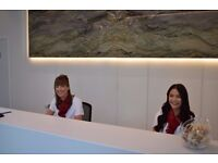 SIA Licensed Receptionist   West of Scotland Science Park