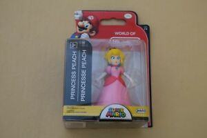 World of Nintendo Princess Peach From Super Mario Figure Brand New Series 1-6