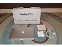 Macbook Pro 13 inch, model A1278, intel Core i5 cpu, 1 TB Hdd, 8gb ram. Boxed with charger. Like new