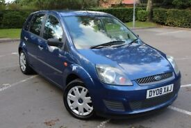 Ford Fiesta 1.4 Diesel 5 Dr Style in Metallic Blue 1 owner from New Good Service History