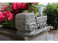 Lorry Truck Planter Stone Garden Ornament