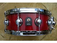 NATAL Snare drum. Segmented stave shell