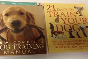 2 books on dog training