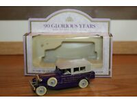 HUGE REDUCTION FROM £15 TO ONLY £4.50 QUEEN MOTHER 90TH BIRTHDAY LLEDO MODEL CAR