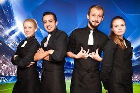 Tired of bar, restaurant or waiter job? Earn £100+per day! Flexible Full or Part time work in London