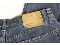 Expensive Original rare breed Simpson Jeans