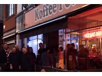 Experienced Sous chef wanted for legendary Manchester Cafe Bar, Koffee Pot