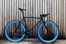 GOKU CYCLES Special Offer! Steel Frame Single speed road TRACK bike fixed gear racing bike eqx