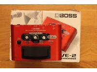Boss VE-2 Harmoniser Pedal