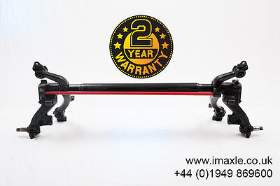 Refurbished 206 Axle, 206 Rear Axle. Drum With ABS *2 YEAR FACTORY WARRANTY*