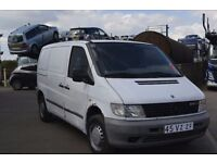 NEAT LEFT HAND DRIVE MERCEDES BENZ VITO,DRIVES WELL,ENGINE AND GENERAL MECHANICS IN TOP FORM...CALL