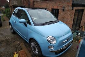 Fiat 500 TwinAir 2011 (85hp), Zero road tax, Zero congestion charge