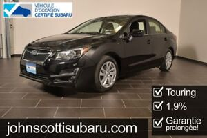 2015 Subaru Impreza Touring 1.9% Low KM