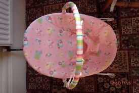 Bright Starts Alphabet Quilt Bouncer – Pink (collection only)