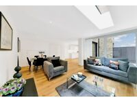 WOW! 3 BEDROOM HOUSE WITH DESIGNER FURNISHINGS AND WOOD FLOORS IN ST PANCRAS PLACE, KING'S CROSS
