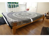 Double bed from Futon for sale, will sell matress/frame seperately