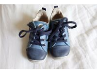 Ecco Leather Baby Toddler Boots Shoes U.S 5 UK 4 European 21 Good Condition 12 to 18 months