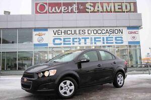 2014 Chevrolet Sonic SEDAN 145$ PAR MOIS 0$ AU COMPTANT