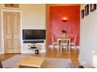Bright, attractive and spacious 1 bedroom flat in central location