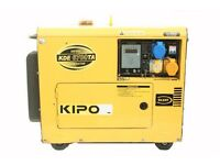 Kipor KDE 6700T Generator (2 Available £500 Each)