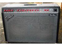 Fender Power Chorus Guitar Amplifier.