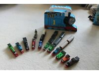 Thomas the Tank Engine Cast Iron Train Set with Carriages