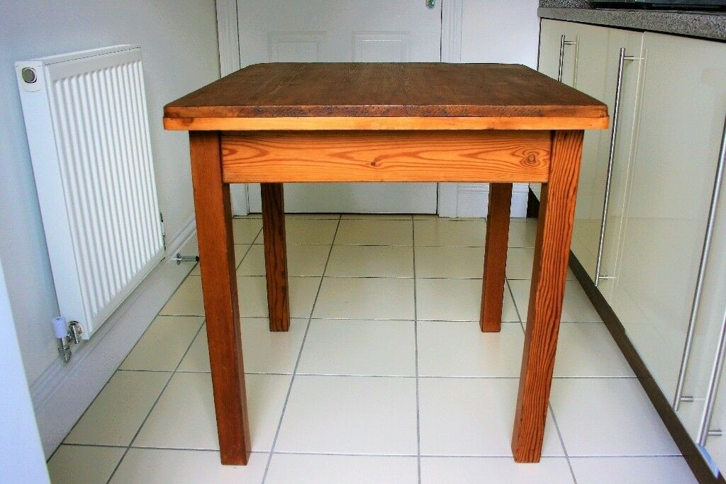rustic solid antique pine kitchen occasional table rustic solid antique pine kitchen occasional table   in york      rh   gumtree com