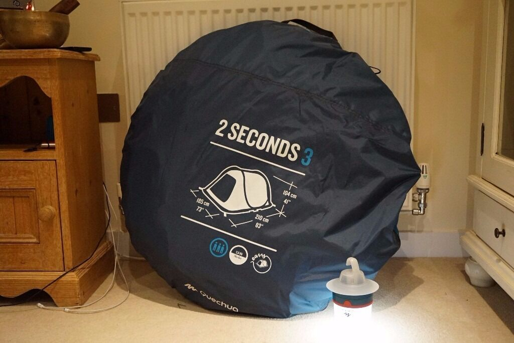 Decathlon QUECHUA 2 SECONDS EASY III POP UP TENT - 3 MAN BLUE : decathlon quechua tent - memphite.com