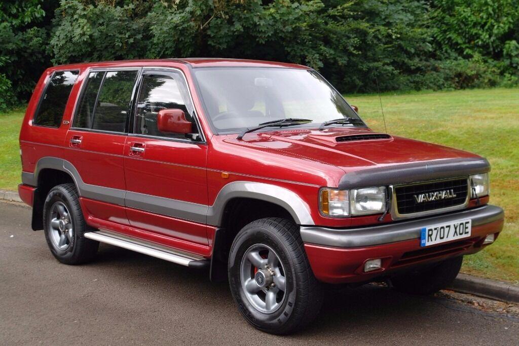 Perfect Vauxhall Monterey (Isuzu Trooper) 3.1 Turbo Diesel Intercooler. 7 Seats.  Low Miles