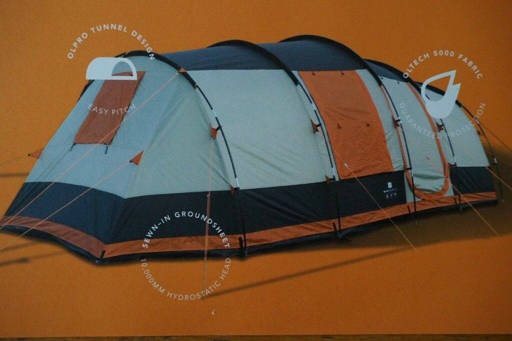 OLPRO MARTLEY 2.0 SIX/EIGHT BERTH TUNNEL TENT - NEW & OLPRO MARTLEY 2.0 SIX/EIGHT BERTH TUNNEL TENT - NEW | in ...