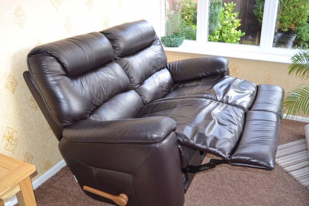 La Z Boy Lazy Manhattan 2 Seater Sofa Manual Recliner U0026 Chairs