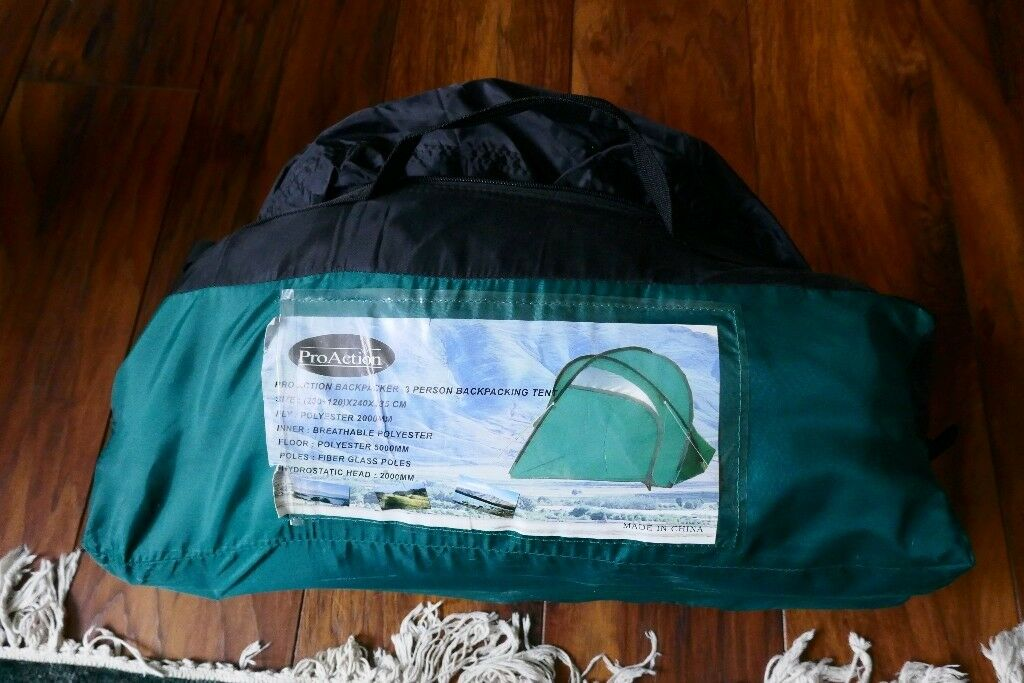 Pro-action 3 man tent & Pro-action 3 man tent | in Haslemere Surrey | Gumtree