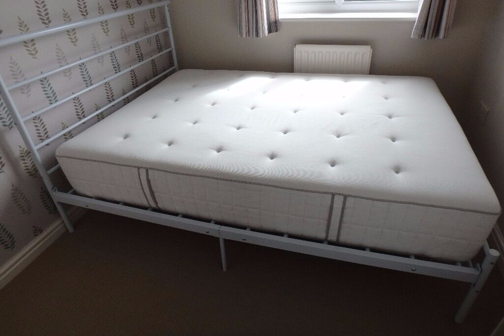 double mattress ikea hokksen pocket sprung mattress
