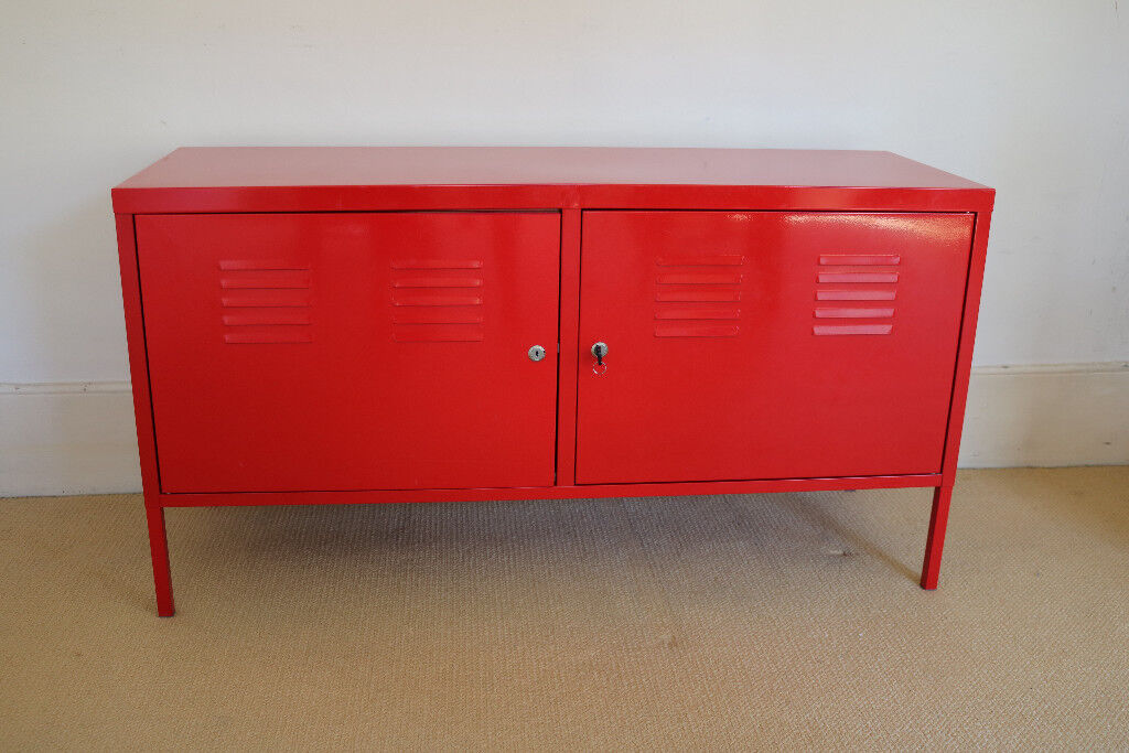 Beau IKEA PS Red Metal Cabinet