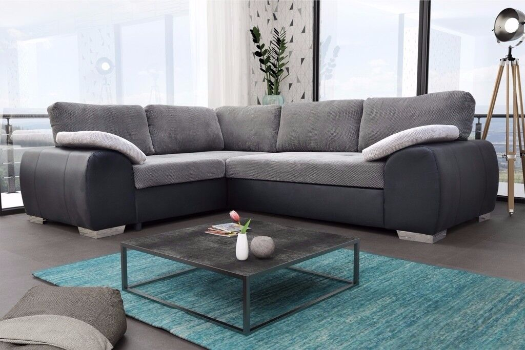 CORNER SOFA BEDS, AVAILABLE IN 2 COLOURS***UK DELIVERY AVAILABLE