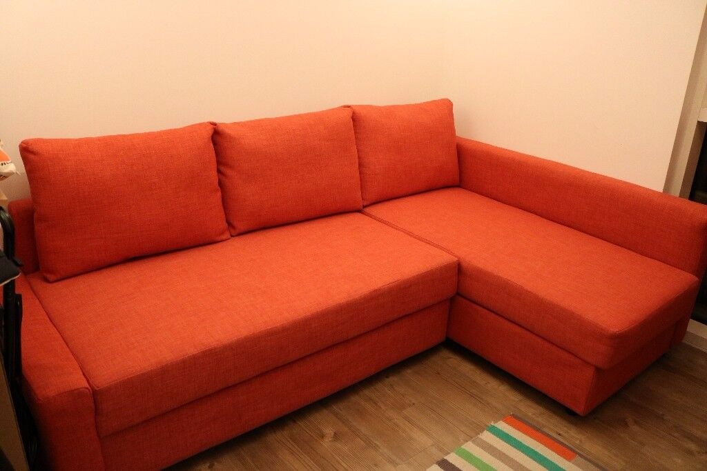 Bon Ikea Friheten Corner Sofa Orange With Storage As Good New 2