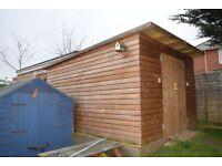 Large Workshop/garage/shed 14ft X10ft