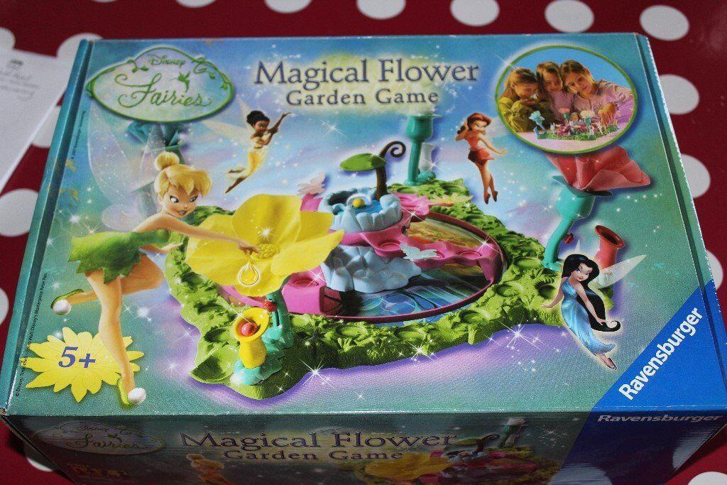 Disney Fairies Magical Flower Garden Game