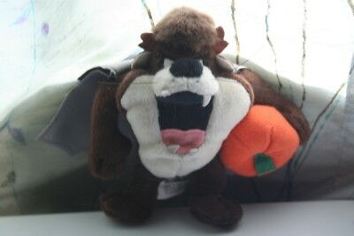Tasmanian Devil Taz Halloween Mini Bean Bag Plush - Taz Halloween