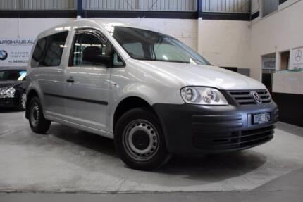 2008 Volkswagen Caddy 2KN Van SWB 4dr Man 5sp 1.9DT