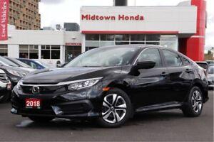2018 Honda Civic Sedan LX-manual-very well maintained